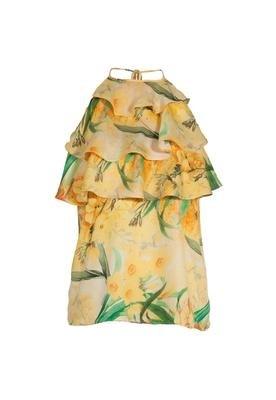 Blusa Tropical Amarela - Colcci