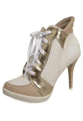 Ankle Boot Crysalis Roma Branco