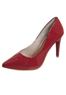 Sapato Scarpin FiveBlu Verniz Vermelho