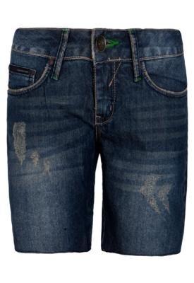 Bermuda Jeans Calvin Klein Pockets Azul - Calvin Klein Jeans