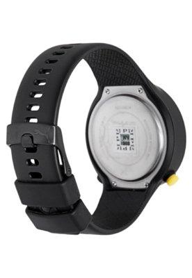 Relógio Puma Go Preto/Amarelo