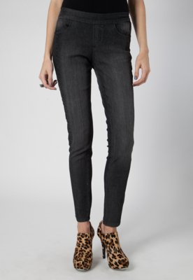 Calça Jeans Faixa Preta - Pink Connection