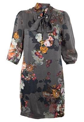 Vestido Seda Alexa Cinza - Rock Lily