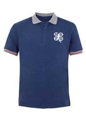 Camisa Polo Handbook Zafiro Azul
