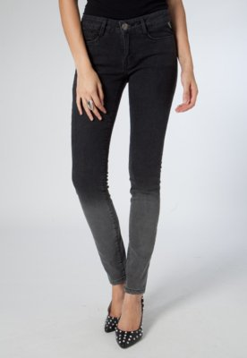 Calça Jeans Skinny Atenas Carolina Preta - Carmim