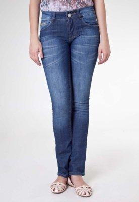 Calça Jeans Biotipo Fit Elas Azul