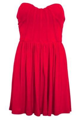 Vestido Justo Rose Vermelho - Triton