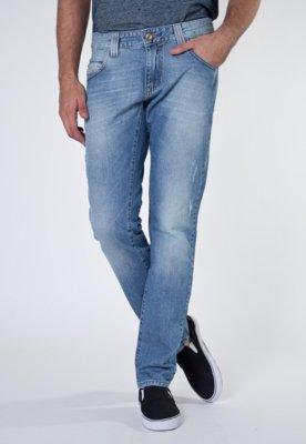 Calça Jeans Reta Atlazs Azul - Sawary