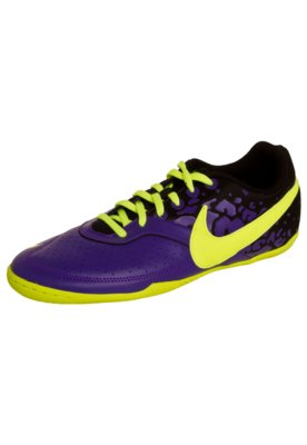 Chuteira Futsal Nike Elástico II Roxa