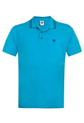 Camisa Polo Cavalera Basic Azul