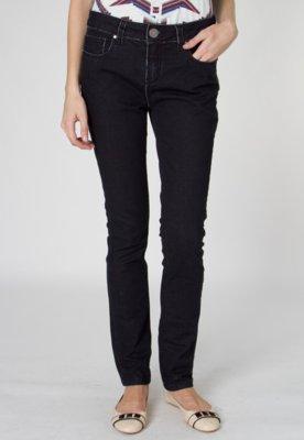 Calça Jeans Shoulder Skinny Night Preta
