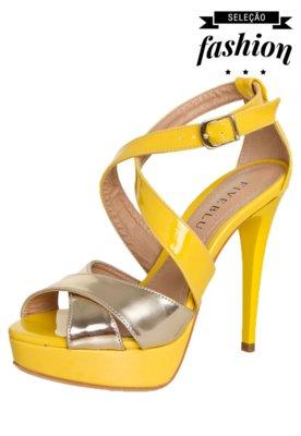 Sandália FiveBlu Modern Amarela