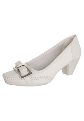 Sapato Scarpin Anna Flynn Wonderful Branco