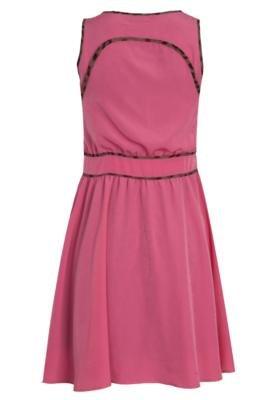 Vestido NightStar Recorte Rosa