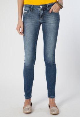 Calça Jeans Skinny Ellus Sea Elastic Azul
