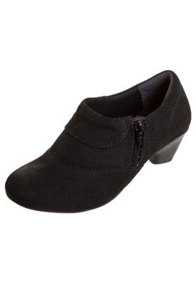 Ankle Boot Comfortflex Charm Preta