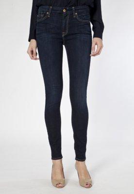 Calça Jeans 7 For All Mankind Skinny Clean Azul