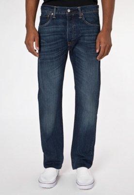 Calça Jeans Levis 501 Reta Style Azul