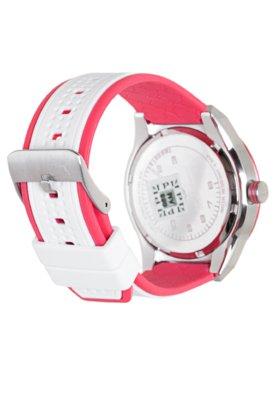 Relógio Puma Edge - S Branco/Rosa