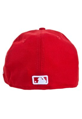 Boné 59Fifty Outline Philadelphia Phillies Vermelho - New E...