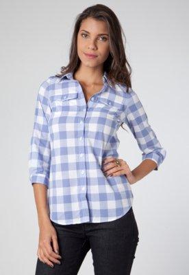 Camisa Tommy Hilfiger Gina Gingham Shir Lics Xadrez