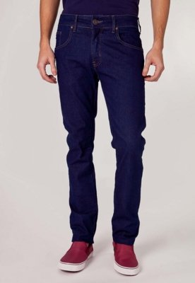 Calça Jeans Coca-Cola Clothing George Indigo Pack Azul - Co...
