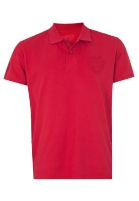 Camisa Polo M. Officer Official TM Vermelha