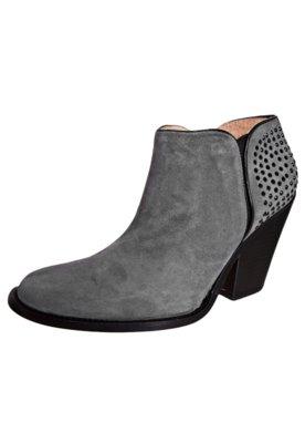 Ankle Boot Hotfix Cinza - Luiza Barcelos