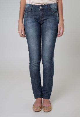 Calça Jeans Sawary Skinny Bright Azul