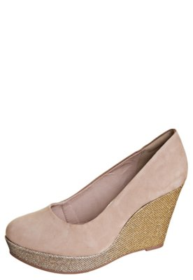 Sapato Scarpin Dakota Hotfix Bege