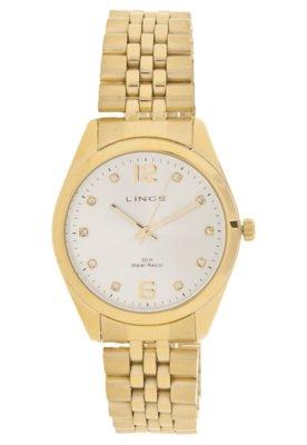 Relógio Lince LRG4114L S2KX Dourado
