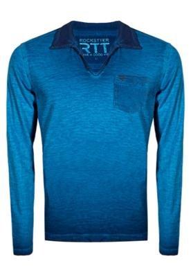 Camisa Polo Rockstter City Azul