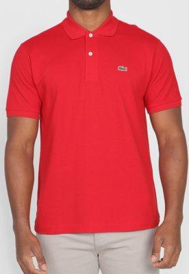 Camisa Polo Live Vermelha - Lacoste