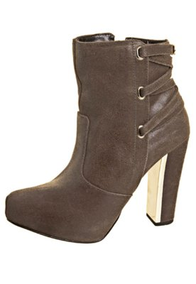Ankle Boot Tiras Bege - FiveBlu