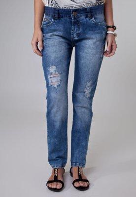 Calça Jeans Colcci Tomboy Indigo Azul