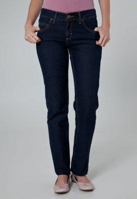 Calça Jeans Lee Reta Baixa Azul