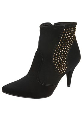 Ankle Boot Lateral Hotfix Preta - Crysalis