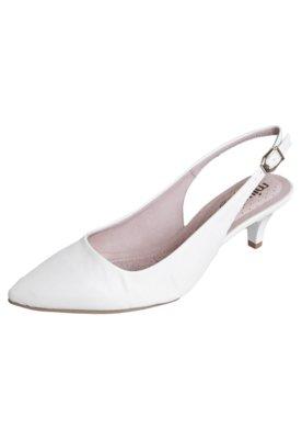 Sapato Scarpin Miucha Chanel Conforto Branco