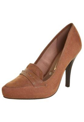Sapato Scarpin Vizzano Lapela Caramelo