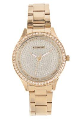 Relógio Lince LRG4182L C2KX Dourado