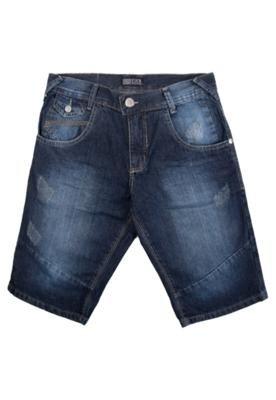 Bermuda Jeans Pier Nine Truta Azul