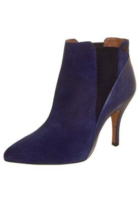 Ankle Boot Duas Fivelas Azul - Triton