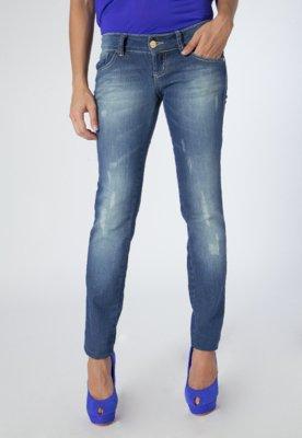 Calça Jeans Coca-Cola Clothing Skinny Edna Azul - Coca Cola...