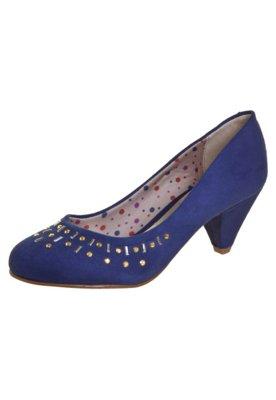 Sapato Scarpin Beira Rio Hotfix Azul