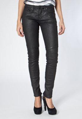 Calça Jeans Calvin Klein Modern Skinny Preta - Calvin Klein...