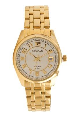 Relógio Seculus 28174LPSBDA2 Dourado
