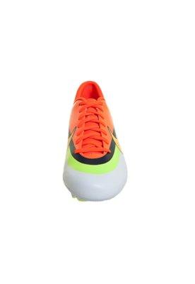 Chuteira Campo Nike Mercurial Victory IV CR FG Laranja/Branc...