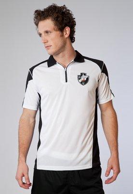 Camisa Polo Licenciados Futebol Vasco Yard Branca