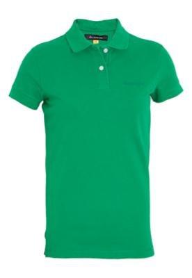 Camisa Polo Ellus Second Flor Piquet Duplo Verde - Ellus 2ND...