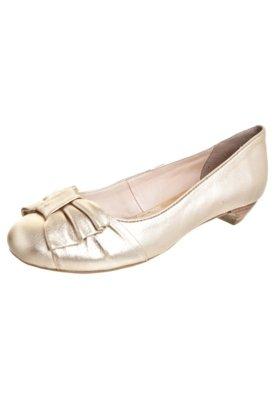 Sapato Scarpin Bottero Saltinho Laço Dourado